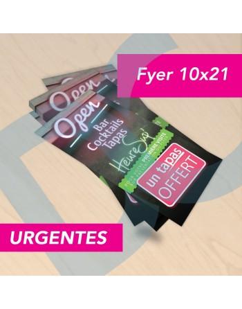 FLYER 10x21 URGENTES 135GR