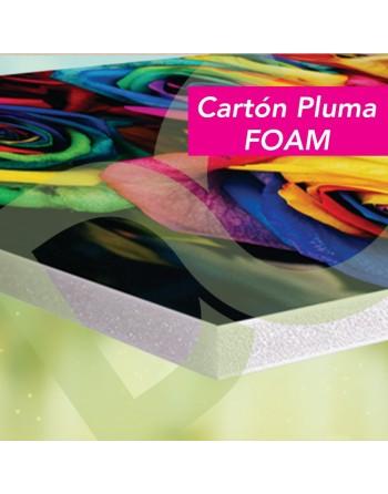 Cartón Pluma (FOAM)