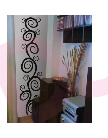Vinilo decorativo Rama Espiral