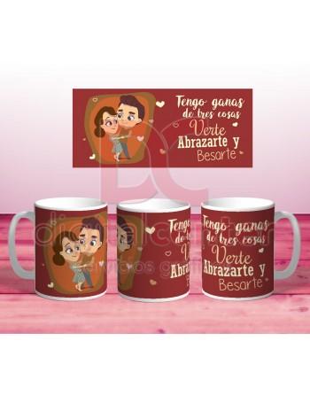 Taza San Valentin - Tengo...