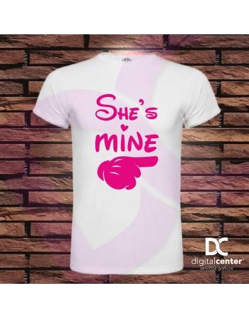 Camiseta She hombre