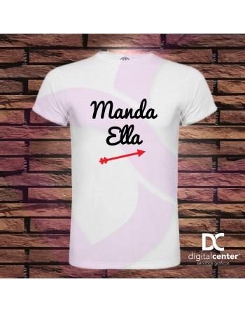 Camiseta hombre Manda Ella