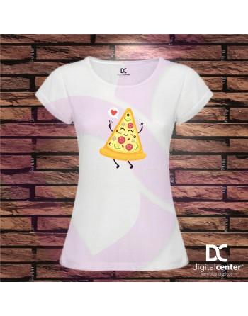 Camiseta Mujer Pizza Time