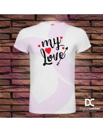 Camiseta hombre my love