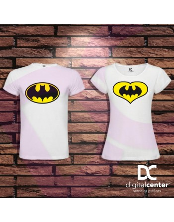 Pack 2 Camisetas BATMAN