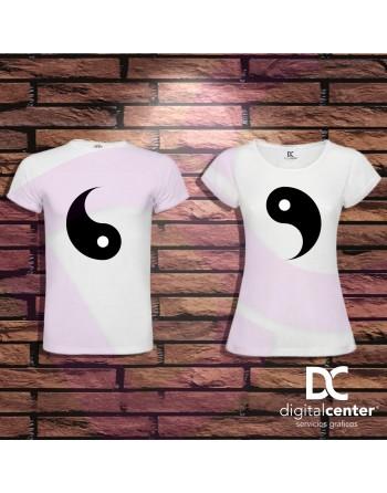 Pack 2 Camisetas ying yang