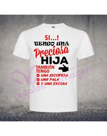 Camiseta Hija Preciosa