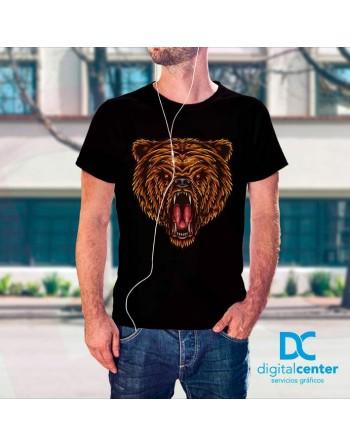 Camiseta Impresión Directa Oso