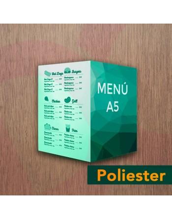 Díptico carta/menú A5 - PVC...