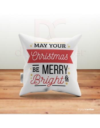 Cojín Navidad may your...