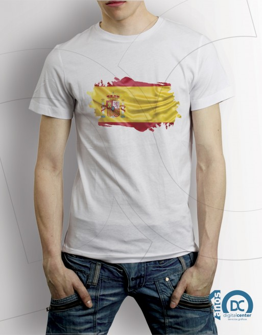 Camiseta  Bandera España