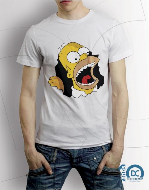 Camiseta Simpson - Hommer