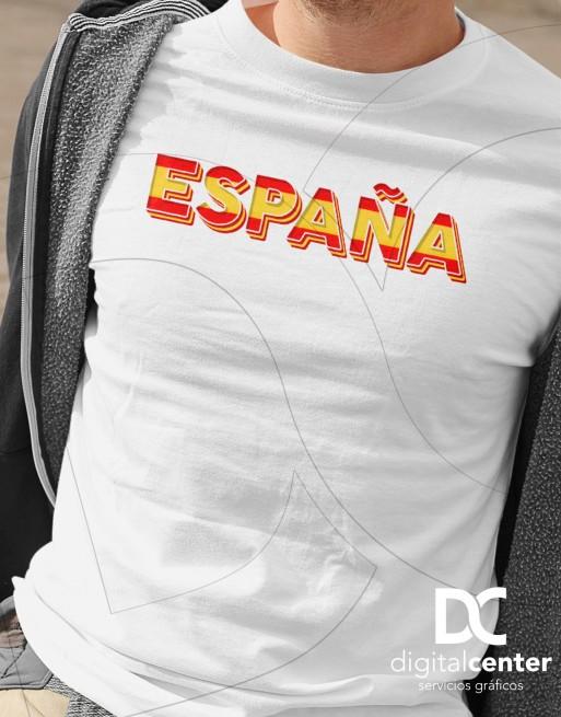 Camiseta Texto España