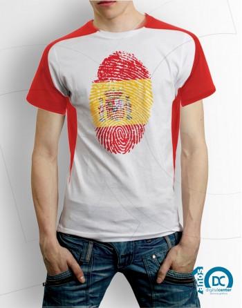 camiseta huella españa