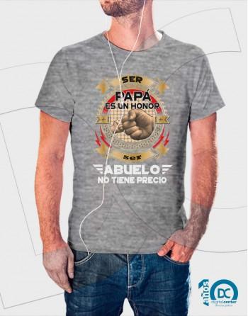 camiseta ser abuelo es un honor