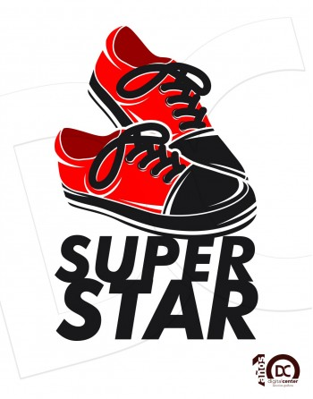 Camiseta Super star