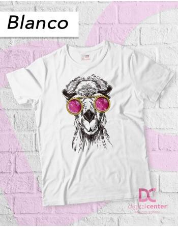 Camiseta Camello con gafas...