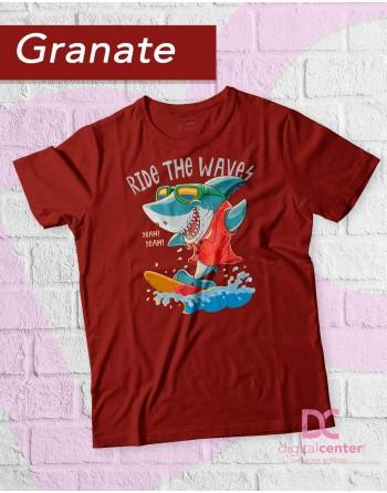 Camiseta Surfea las olas