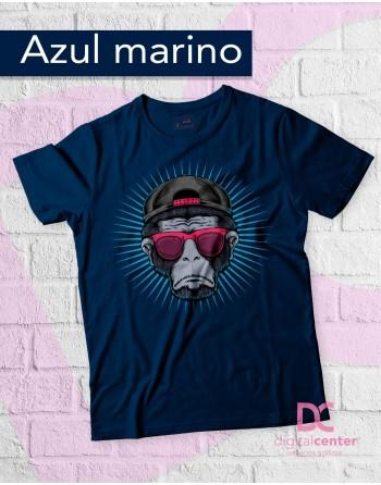 Camiseta Mono con Gafas