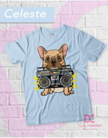 Camiseta perro con radio...