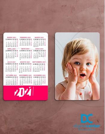 Calendario Bolsillo Personalizado