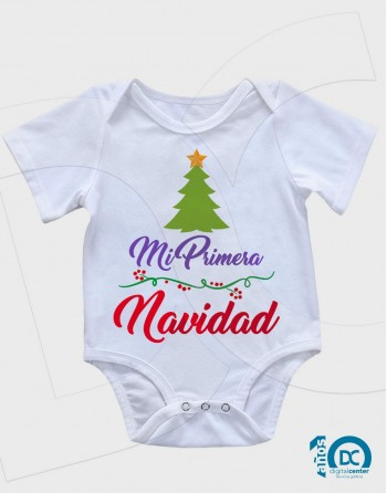 """Body Bebé """"Mi Primera Navidad"""""""