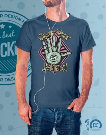Camiseta abre tu mente