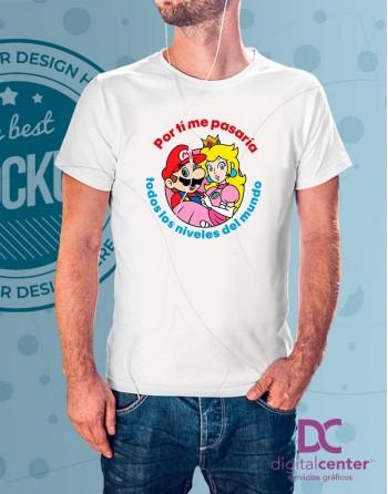 Camiseta Por ti - SuperMario