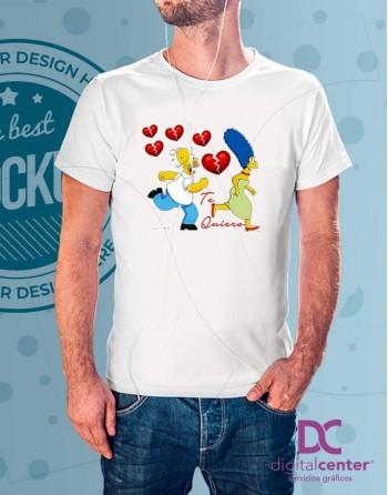 Camiseta Love Simpson