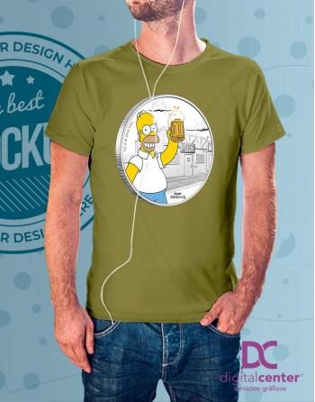 Camiseta Homer Love Beer