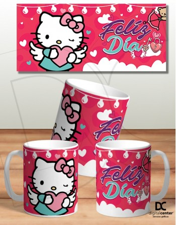 Taza Hello Kitty enamorada