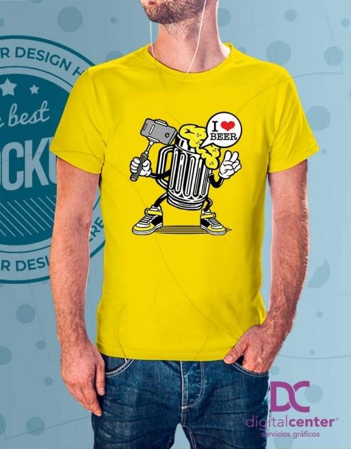 Camiseta I Love Beer