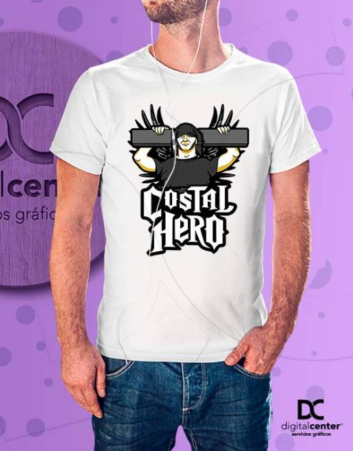 Camiseta Costal-Hero