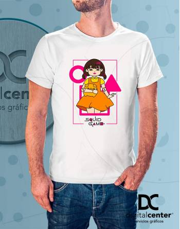 Camiseta Squid Game 1