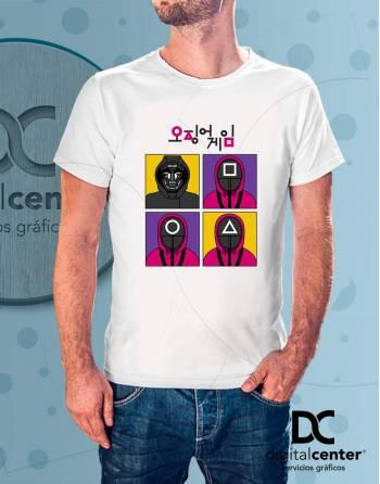 Camiseta Squid Game 3