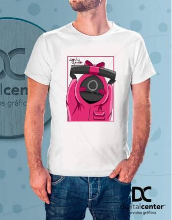 Camiseta Squid Game 4