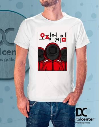 Camiseta Squid Game 5