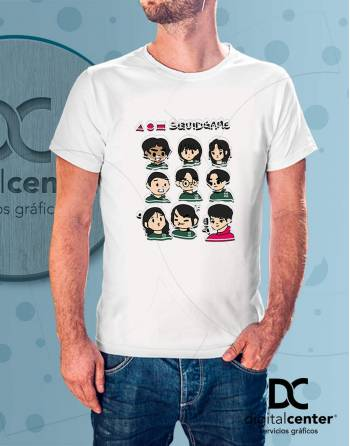 Camiseta Squid Game 6