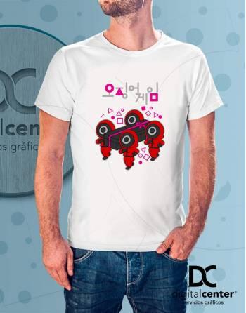 Camiseta Squid Game 7