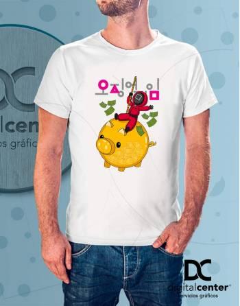 Camiseta Squid Game 9
