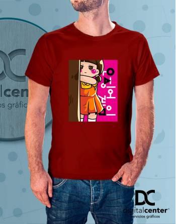 Camiseta Squid Game 10